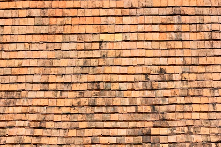 Clay tiles for roofing  photo