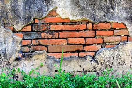 Damage to the plaster walls inside Stock Photo - 11170619