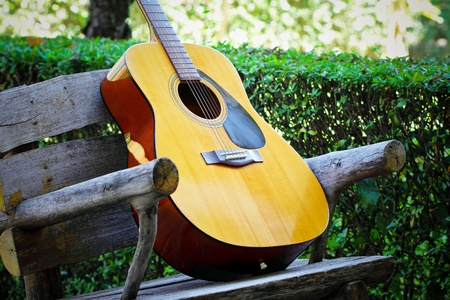 Guitar musical Standard-Bild