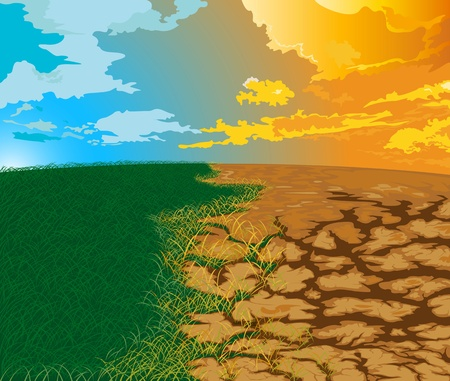 Aridity Changes in nature. To drought