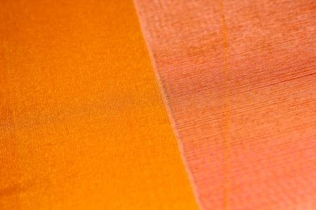 hand woven: Delicato e bella mano di seta tessuta