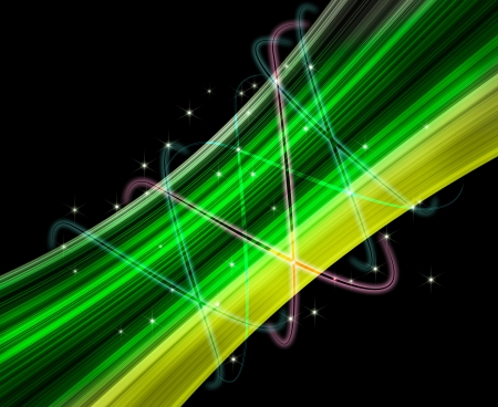 Green Light Effects Background Lighting Effect Background
