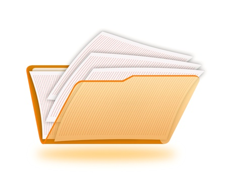 monograph: Folder with a documents