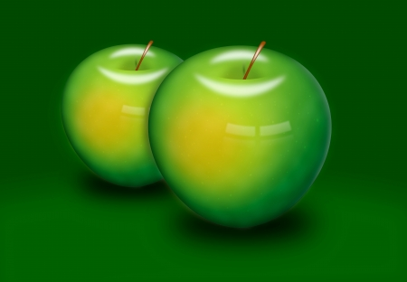 Green apple Stock Photo - 14508598