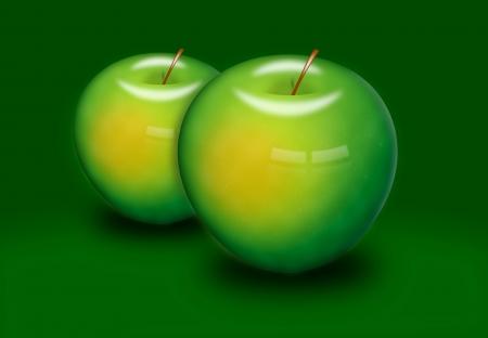 Green apple Stock Photo - 14508598