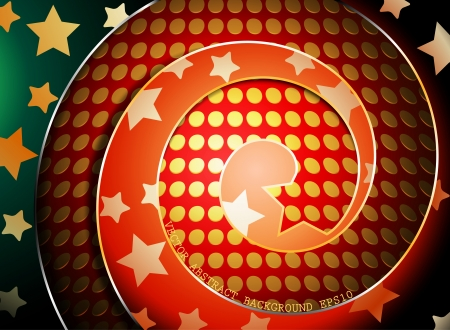 Colorful spiral shaped abstract background Stock Vector - 23020624