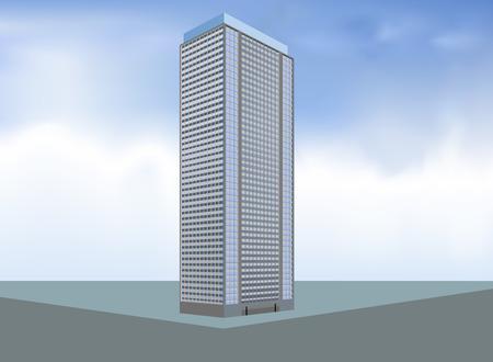 콘도: Built condo layout,residential building background