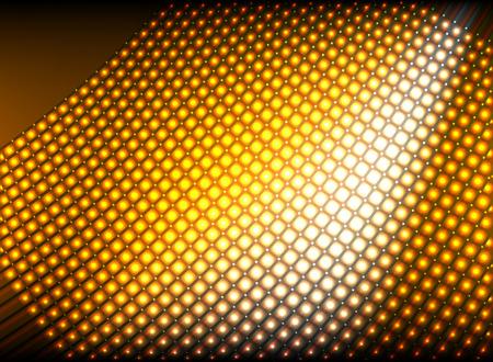 lighting background: Glitter lighting golden abstract background