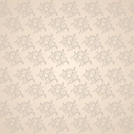 vine art: Beautiful vine art pattern,wallpaper background Illustration