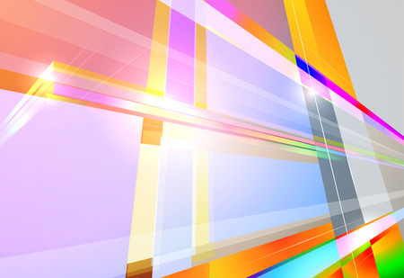 angle: Colorful abstract angle shape scene vector background Illustration