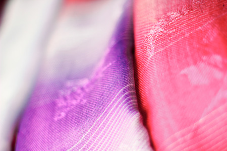 hand woven: Close up hand woven in motion blur abstract background Stock Photo