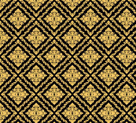 thai culture: Gold art,Thai culture vector pattern abstract background
