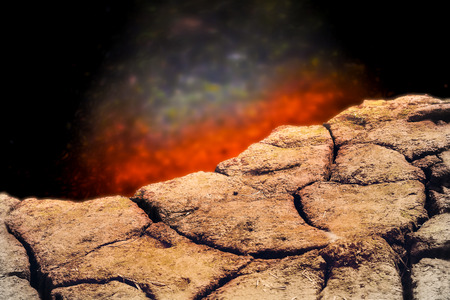 rainless: Abyss and cliff scene,dry rainless nature background