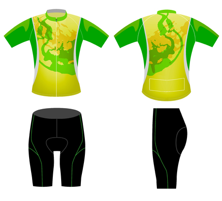 Cycling vest graphic t-shirt vector design on a white background