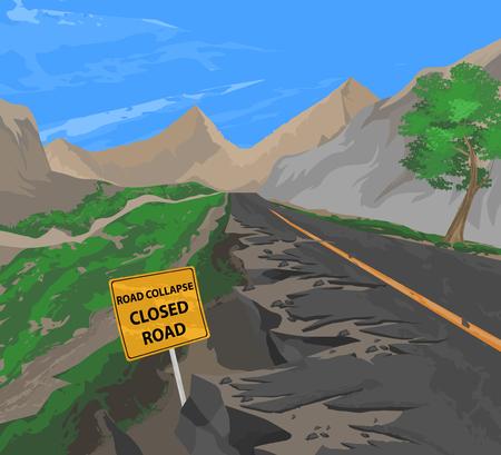 collapse: Camino colapso del vector, la naturaleza de fondo de transporte