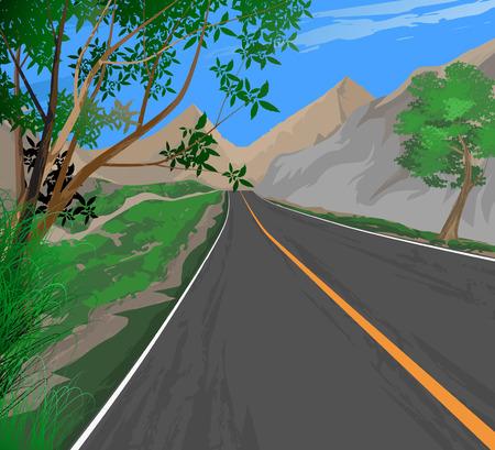 roadside: Roadside,transportation nature landscape background
