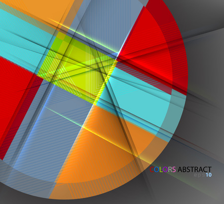 translucent: Translucent colors scene vector abstract background
