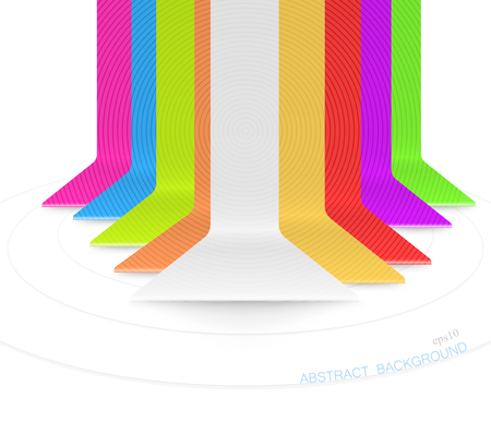 bar scene: Colored bar scene vector abstract on a white background Illustration