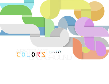 Modern abstract colors style vector wallpaper on a white background