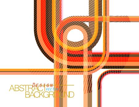 Colors shape curve scene vector design wallpaper on a white background Illustration