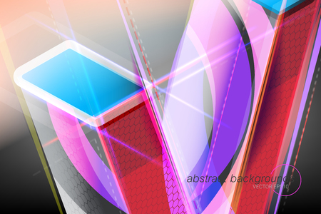Abstract shapes colors concept vector wallpaper backgrounds