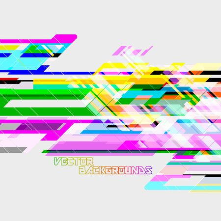 Abstract geometric translucent colors wallpaper vector backgrounds
