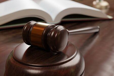 un martillo usado para un juicio