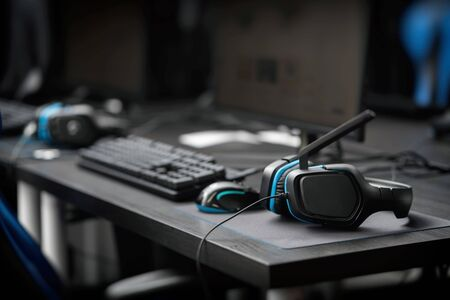 Mouse keyboard headset with eSports image