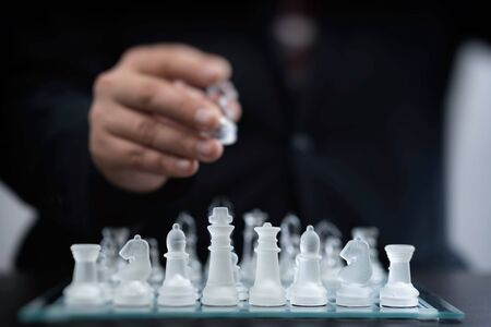 Business image of a chess manager
