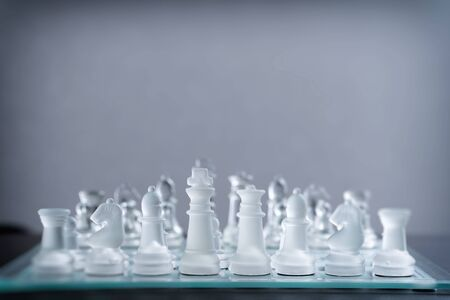 Business image using chess