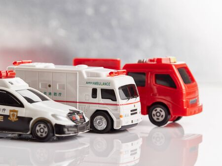 Image of an emergency vehicle