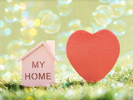 Heart, My Home, and Bubbles Imagens