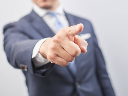 Business image and pointing