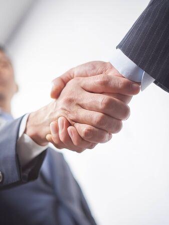 Business image and handshake