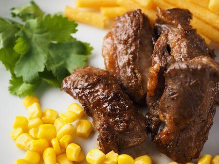 Texmex meat dishes Stok Fotoğraf