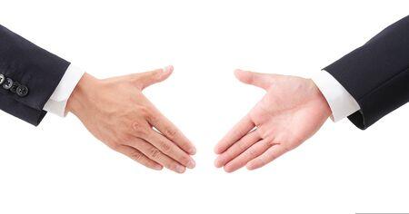 Businessmans handshake image