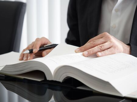 a judicial scrivener who studies about registration