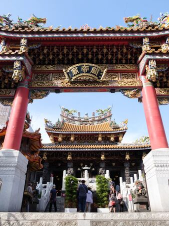 Yokohama Chinatown, Kan Teigo Standard-Bild - 139608912