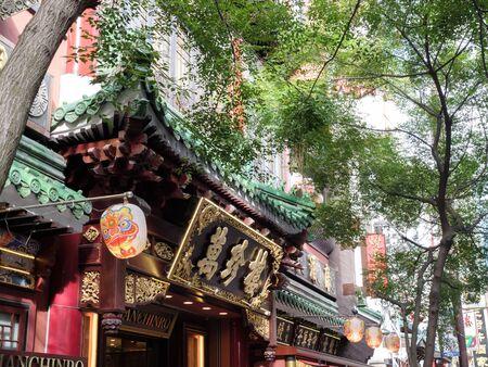 Yokohama Chinatown Main Street Standard-Bild - 139608922