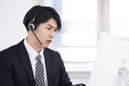 Call center men who respond to claims