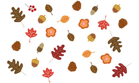 Autumn Leaf Background Material