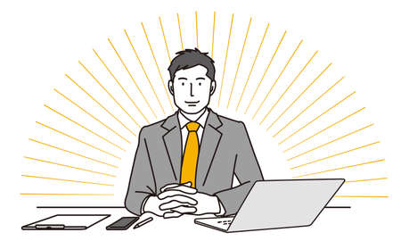 Corporate meeting Illustration