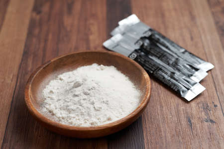 Powdered supplements for training