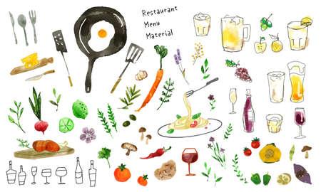 Illustration of ingredients