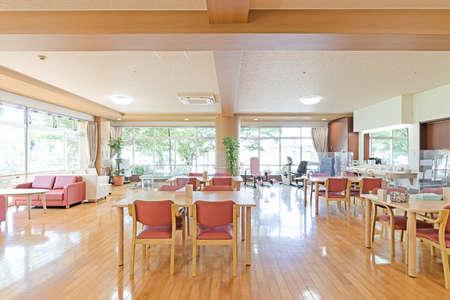 Multipurpose room in a nursing home Banque d'images