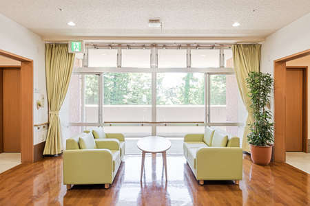 Sofas and tables in nursing homes