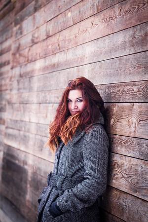 Natural portarit of young woman