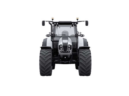 3d rendering tractor front view isolated on white background no shadow Stock fotó