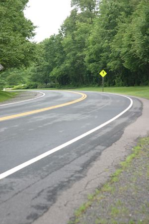 curve road: Curve in the Road