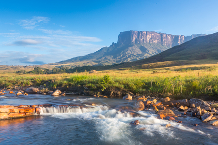 Monte Roraima, South America, Venezuela 版權商用圖片